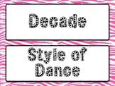 Dancing Through the Decades