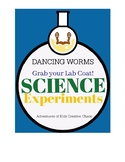 Dancing Worms Science Experiment with Lab Worksheet