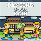 Weather and Spring Activities for Kindergarten {Math & Literacy Centers}