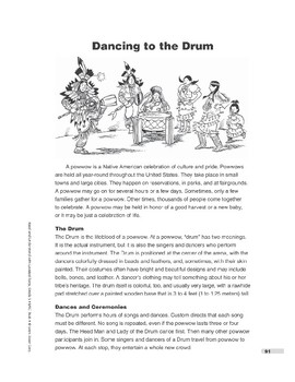 Dancing to the Drum (Lexile 940)