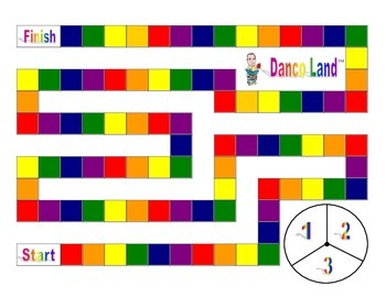 Danco Land Phonics Game