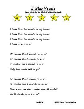 Danco Phonics Five Star Vowel Song