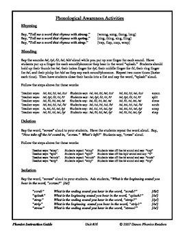 Danco Phonics Unit #16 - str-, spl-, scr-, spr-