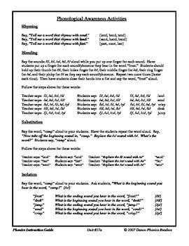 Danco Phonics Unit #17a  -st, -sp, -mp, -sk, -nt, -nd