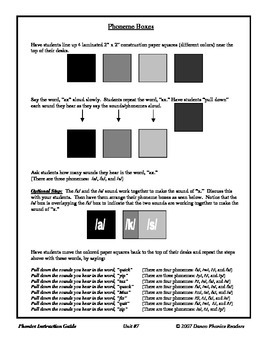 Danco Phonics Unit #7 - qu, x, y, z