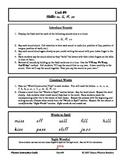 Danco Phonics Unit #9 - ss, ll, ff, zz