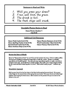 Danco Phonics Units 13b, 13c, and 14 (77 Pages)