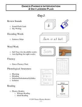 Danco Phonics Units 21-35 and additional resources (563 Pages)