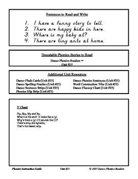 Danco Phonics Units 23, 24a, and 24b (81 Pages)