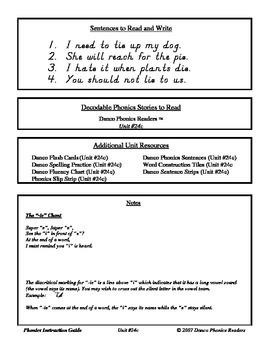 Danco Phonics Units 24c, 24d, and 25 (72 Pages)