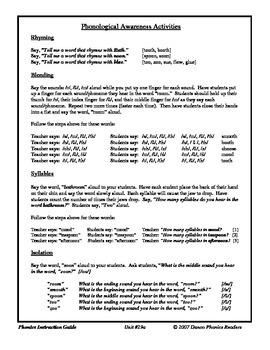 Danco Phonics Units 29a, 29b, and 30 (79 Pages)