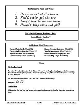 Danco Phonics Units 31, 32, 33 (74 Pages)
