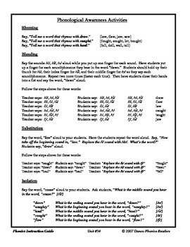 Danco Phonics Units 34 and 35 (50 Pages)