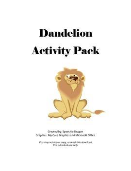 Dandelion Activity Pack