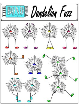 Dandelion Fuzz - Clip Art