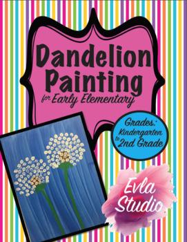Dandelion Painting Art Project
