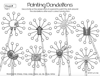 Dandelion Q-tip Painting