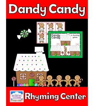 Rhyming Game Center - Dandy Candy Gingerbread Themed