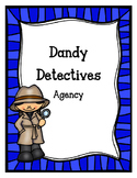 Dandy Detectives Agency (Dramatic Play)