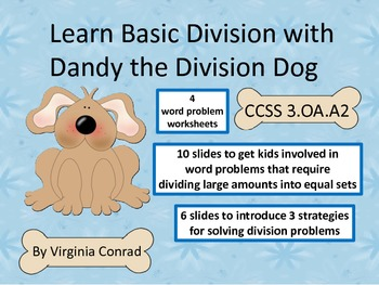 Dandy the Division Dog Teaches 3 Basic Division Strategies