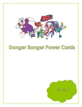 Danger Ranger Power Cards