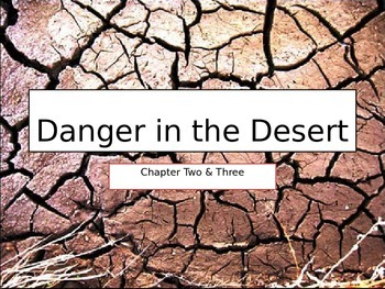 Danger in the Desert Comprehension with Test