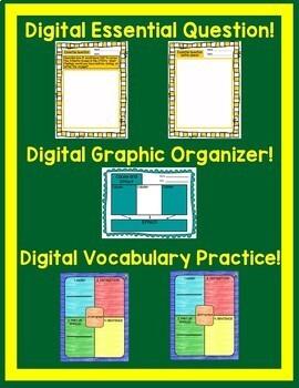 Dangerous Crossing Journeys 5th Grade Unit 3 Lesson 11 Google Digital Resource