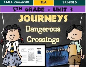 Journeys Grade 5 Trifold (Dangerous Crossings)