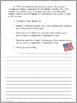 Dangerous Crossings--Writing Prompt-Journeys Grade 5-Lesson 11