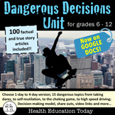 Decision-Making Lessons for Teen Health Digital Resource: GOOGLE DOCS or Print