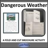 Dangerous Weather Brochure Activity