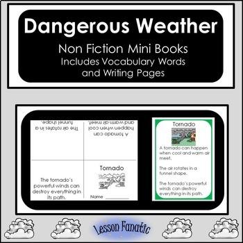 Dangerous Weather Non Fiction Mini Books