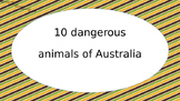 Dangerous animals of Australia