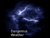 Dangerous weather powerpoint
