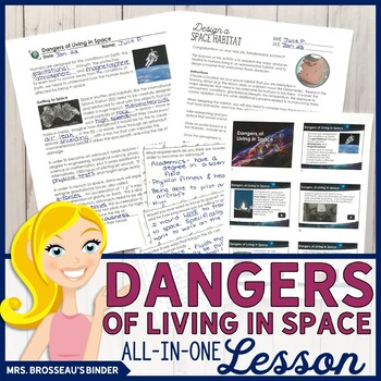Dangers of Living in Space ALL-IN-ONE Lesson   Astronomy