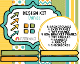 Danica Design Kit - Cover Page Templates - Planner Templates