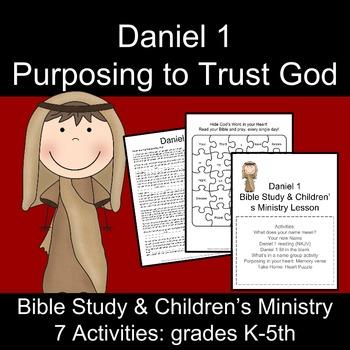 Daniel 1: Bible Study and Children's Ministry Activities
