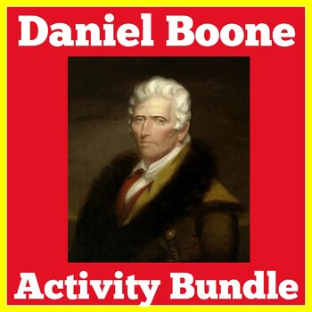 Daniel Boone Activities Bundle