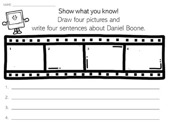 Daniel Boone | Biography Activity