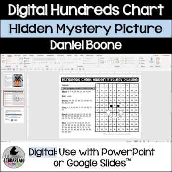 Daniel Boone Hundreds Chart Hidden Picture Activity for Fall Math