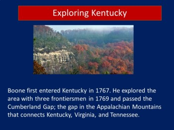 Daniel Boone Activity | Daniel Boone Pioneer | Daniel Boone PowerPoint