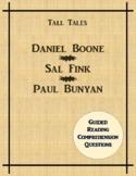 Daniel Boone - Sal Fink - Paul Bunyan Benchmark Advance Re
