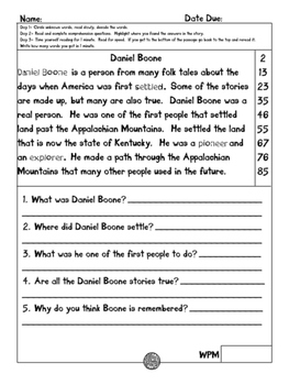 Free printable Daniel Boone coloring pages 027
