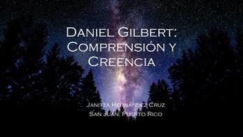 Daniel Gilbert: Comprensi