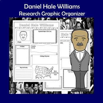 Daniel Hale Williams Biography Research Graphic Organizer