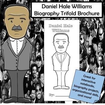 Daniel Hale Williams Biography Trifold Brochure