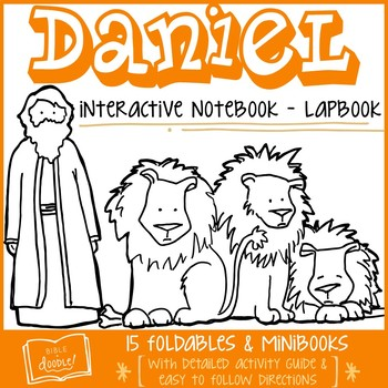 Daniel Interactive Notebook - Lapbook (K-6)