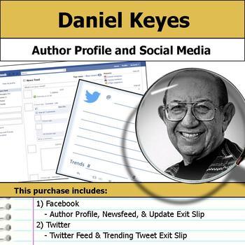 Daniel Keyes - Author Study - Profile and Social Media