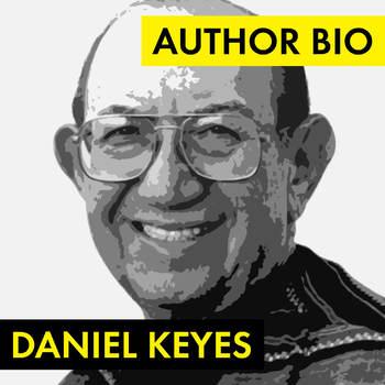 Daniel Keyes Author Worksheet, Flowers for Algernon, Easy Biography Activity
