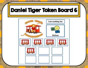 Daniel Tiger 10 Token Board 6